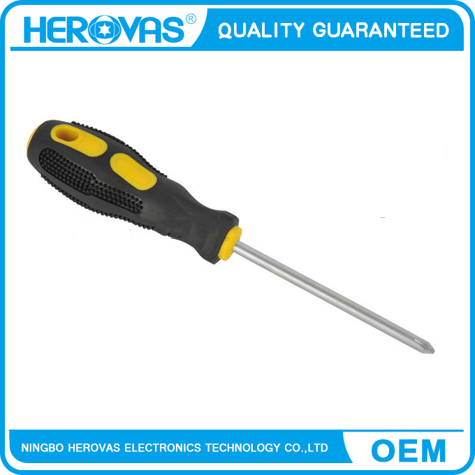 screwdriver with TPR covered handle, OEM acceptable professional hand tool screwdriver