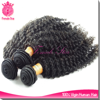 female star alibaba virgin human brazilian curly hair weave bundles with closure