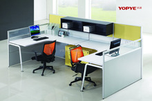 China manufacturer hot sale office workstation desk for 3 person
