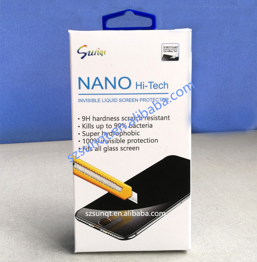Shenzhen Sunqt screen protector nano liquid for cellphone and laptop consumer electronics