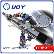 16 manual gears with Transformers e-cig OEM ODM Ijoy Etop-A high end e-cigarette