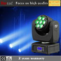 China 7*12w 4in1 super beam decorative mini led moving head rgbw wash light