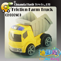 2015 best toys gift-friction truck plastic tractor wholesale toys for kid