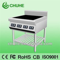 freestanding commercial stove burners/ induction cooktop 4 burner