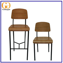 China Weight Restaurant Dining Modern Simple Design Metal Chair