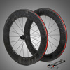 700C Size and 12K / UD / Finishing China Carbon Bicycle Wheel