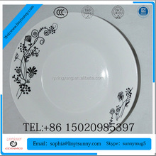 Ceramic Fruit Plate/Ceramic Dinner Plate /apple shaped dishes