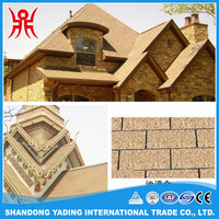 Cheap and colorful laminated bitumen roofing shingle