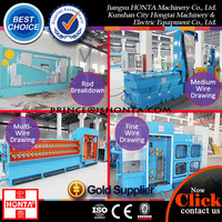 Copper And Aluminum Wire Cable Machines For Wire Drawing Twisting Extruding Wrapping