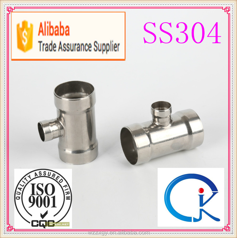 Stainless steel elbow tee reducer pipe fitting