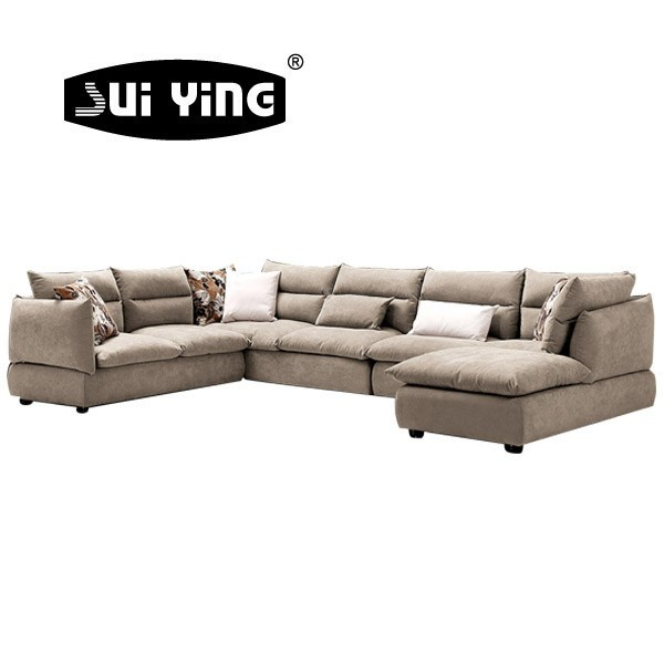 8030 Fancy Design Down Feather Modern Living Room Sofa