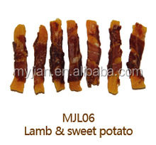 natural healthy dog chew dog treat lamb & sweet potato super premium quality OEM factory wholesale dry dog food