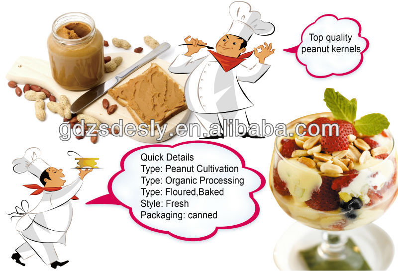 Chinese Bulk packed natural peanut butter