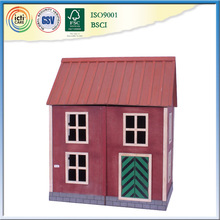 Lovely Wooden Doll Cottage Mobile Container House