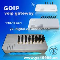 gsm goip 8 port voip terminal cdma black box