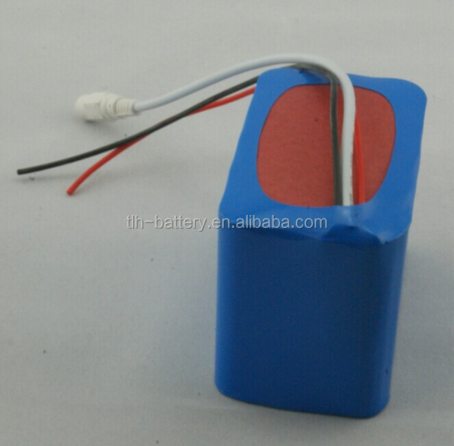 12v 10ah 18650 li ion rechargeable battery pack