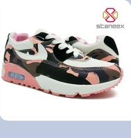2016 New Style Fashion Cheap Camouflage Light Weight Sport Shoes Women