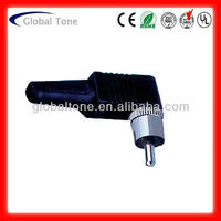 GT1-3099 Right angle RCA plug connector multiple rca connector