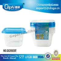 food grade wholesale small clear hard plastic boxes