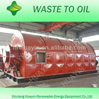 10 tons' waste tyre pyrolysis machine to make crude oil