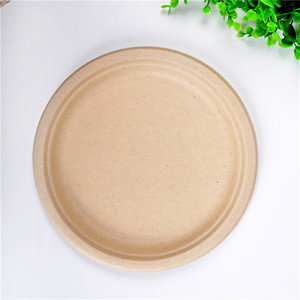 Eco-friendly Degradable Plate Set Dinnerware, Disposable Cake Plate
