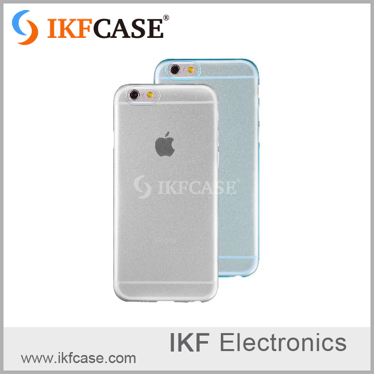 Best selling translucent frosted case cover for iphone6