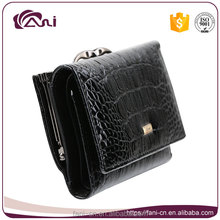 Fani latest smart design small purses wallet women genuine leather