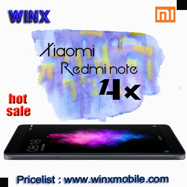 Original Xiaomi mobile phone Redmi note 4x 4GB RAM 64GB ROM 4100mAh Camera 16MP