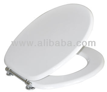 Luxoline Toilet Seat with Chrome Hinge