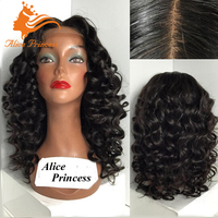 Glueless Silk Top Full Lace Wig Natural Deep Body Wave Virgin Peruvian Human Hair Discount Elsa Wig With Baby Hair