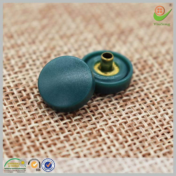 Colorful nylon kam plastic snap buttons plastic snap button for clothing