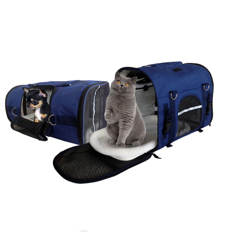 Customized 44*20*27CM or custom size pet carrier with wheels for shantui spare parts