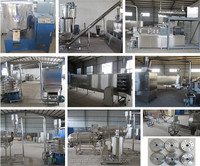 Floating fish feed extrusion production line