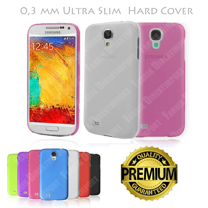 Best Price Ultra Slim Thin Hard Case Cover Transparent Matte for Samsung Galaxy S4 IV i9500