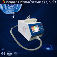Portable q-switch nd yag home laser skin rejuvenation skin pigmentation removal machine