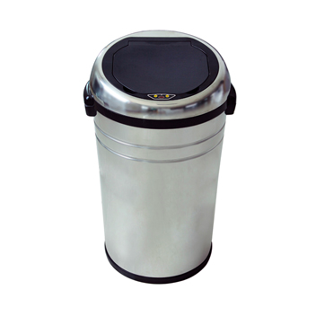 85L Big Size Stainless Steel Round Shape Touchless Recycle Sensor Bins