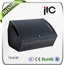 TS-812F Indoor 400W Pro Loudspeaker Coaxial Active Monitor Speaker Box