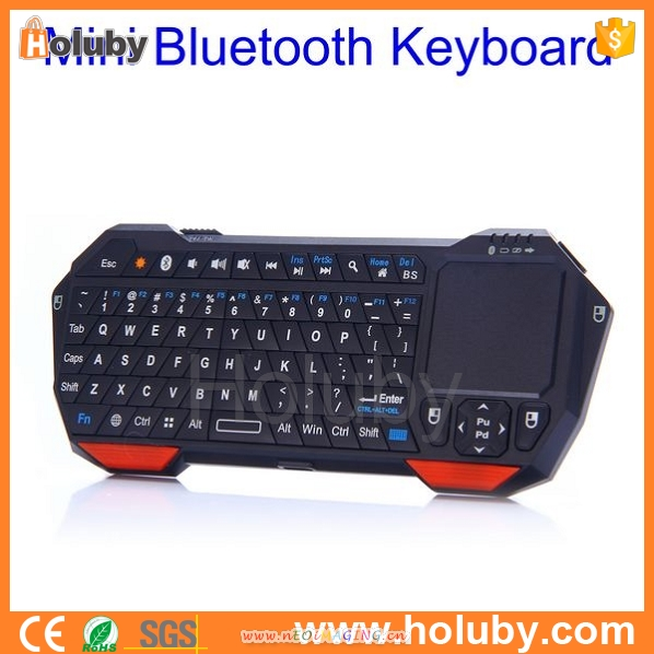 2015 Best sell mini keyboard gaming keyboard with touchpad for Android TV BOX PC game Keyboard