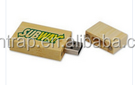 custom bamboo usb flash drive