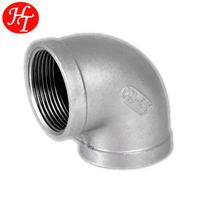 Free Sample Stainless Steel Price List of Pipe Fitting Reducing Elbow Made in China