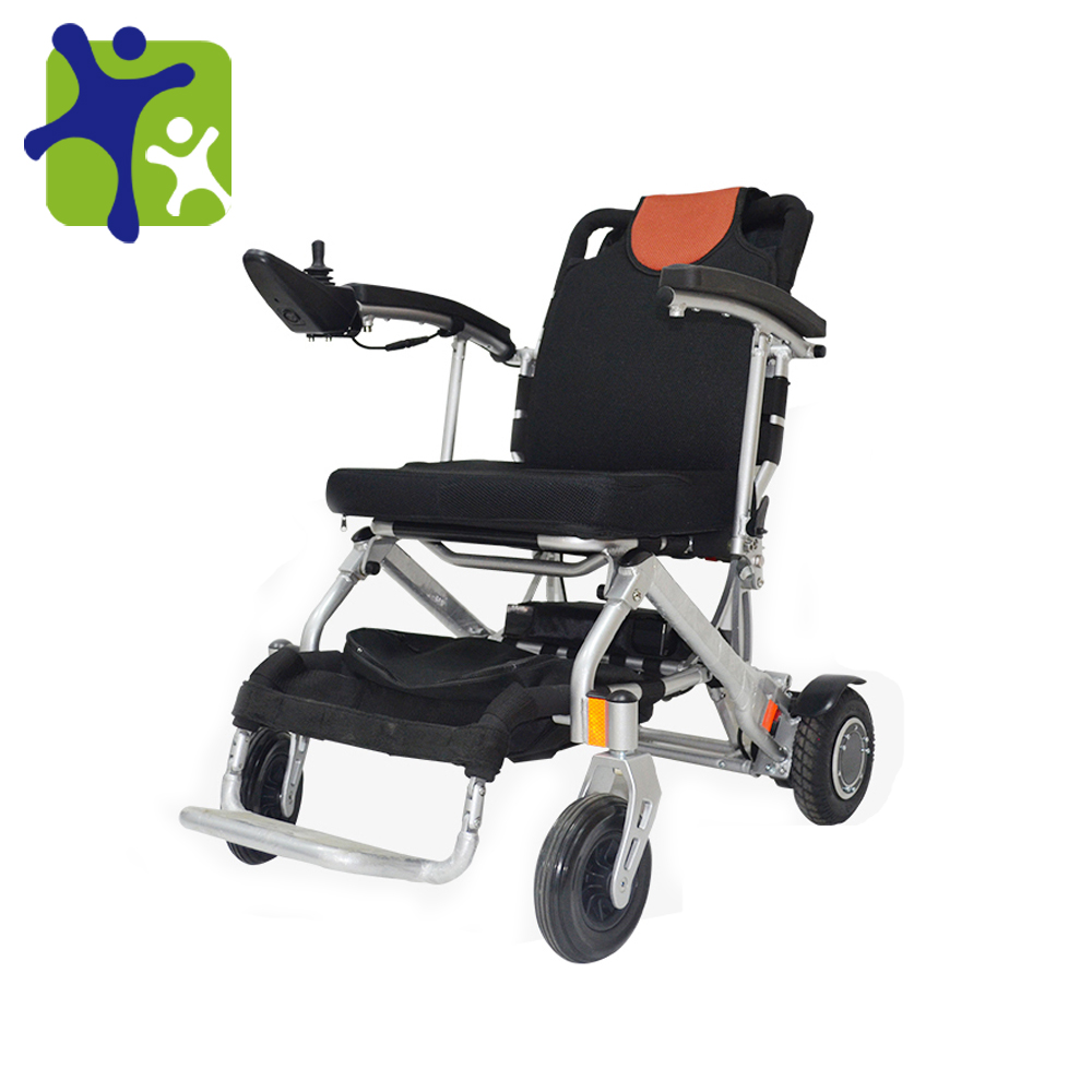 Aluminum Folding Lithium Battery Power Electric Wheelchair
