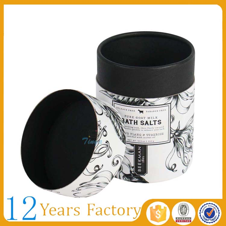 printed carton tube box packaging candles