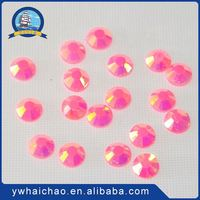 Newest sale attractive style epoxy resin hotfix rhinestone directly sale
