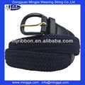 customized elastic plain waist belt