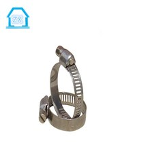 High Pressure Small Diameter Thin Hose Clamps For PVC Pipe Fitting