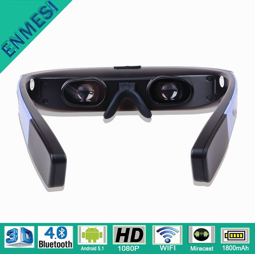 New Technology 2016 Digital Portable 1080P HD Wifi 3D VR Glasses Android