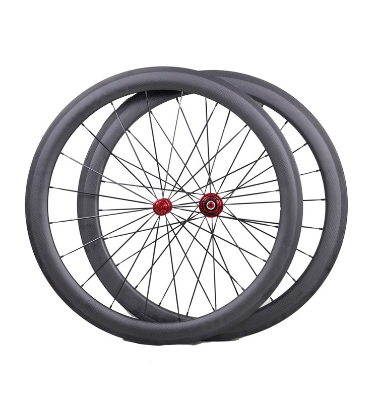 Road bicycle carbon road wheels 50mm depth carbon wheelset 700C bicycle carbon road wheels