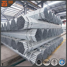 Q235 carbon gi pipe green house Hot dipped Galvanized Steel Pipe/Tube made in tianjin china