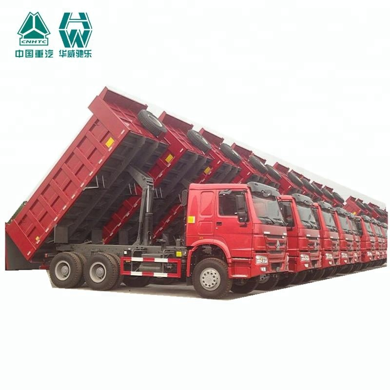 China 18 cubic meters 30 ton 10 tires howo tipper truck for sale