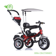 2017 baby walker tricycle 4 in 1 trike/child tricycle seats/cheap kids tricycle kids smart trike